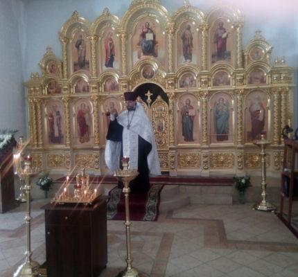 Панихида на девятый день трагедии в Кемерово