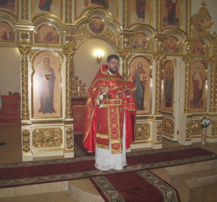 Праздничные пасхальные богослужения